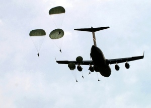 US Army Parachuters