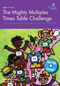 9780857476296 The Mighty Multiples Times Table Challenge Brilliant Publications