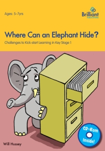9780857475329 Where Can an Elephant Hide? Brilliant Publications