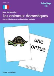 9781554096688_Mon_Vocabulaire_Animaux_domestiques Brilliant Publications