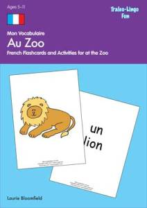 9781554096800_Mon_Vocabulaire_Au-Zoo Brilliant Publications