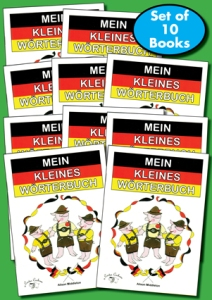 Mein Kleines Wörterbuch (My little German dictionary) Brilliant Publications