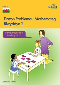 Datrys Problemau Mathemateg, Blwyddyn 2 Maths Problem Solving Year 2 Welsh edition - Brilliant Pubications