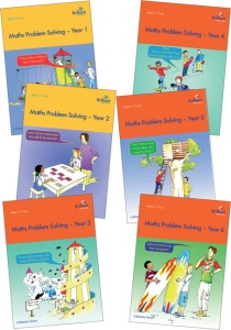 Maths Problem Solving series cover images